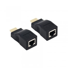 HDMI Extender Over CAT5e/6 Network Ethernet Adapter (4K / 1080P) - Up to 30m