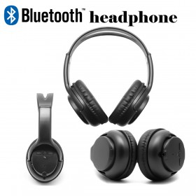YS Music Bluetooth MP3 And FM Stereo Headphone - 668