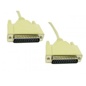 Serial Cable DB25 Male to Male