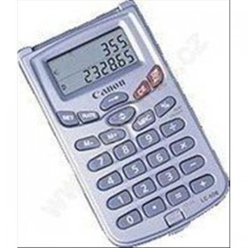 Canon Pocket Calculator with Alarm Function
