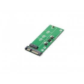 "NGFF ( M2 ) B Key & B+M Key SATA Based SSD to 2.5"" SATA Adapter,SATA-Bus M.2 NGFF SSD to SATAIII 6Gbps Convert Card For 2230/2242/2260/2280mm"