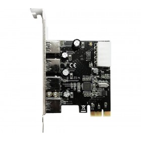4-Port USB 3.0 PCIe Card