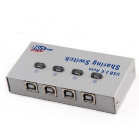 4 Port USB Printer Sharing Switch