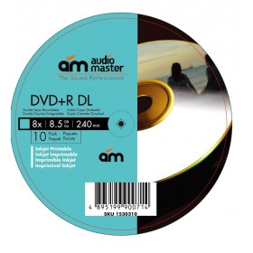 Dual Layer DVD 10 Pack 8.5G Printable