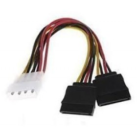 SATA POWER CABLE DOUBLE