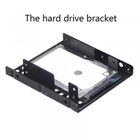 2.5 To 3.5 Hard Disk Bracket Hard Drive Dual Desktop SSD Mounting Bracket Internal Adapter