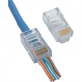 Cat5 easy connector