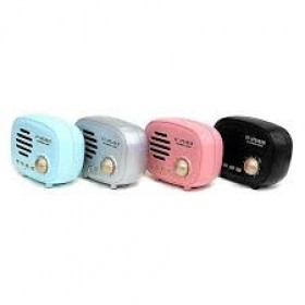 Retro Radio BT Speaker, Q108 BT 4.1 Multimedia Radio Mini Portable Sound Box Support FM Radio