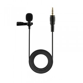 Microphone for Bloggers and Vloggers ,Mic Clip-on Omnidirectional Condenser Microphone for iPhone Ipad Samsung Android Windows Smartphones