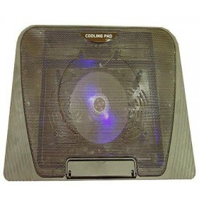 "N151 15.7"" 1-Fan Notebook Cooling Pad – Black"