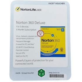 Norton 360 Deluxe 3 Devices 6 Month Subscription