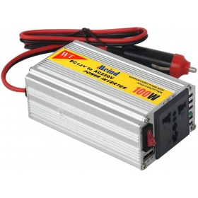 DC 12V to AC 220V 100W Auto Car Power Inverter Charger Supply Adapter Converter