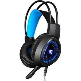V1000 Wired Head-mounted Game Headset USB Noise-reducing Headphone for Laptop PC