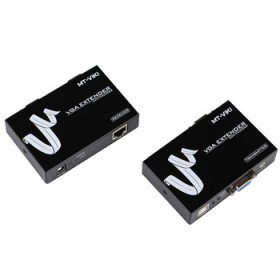 100m 1080P real time VGA extender with audio over cat5/5e/6
