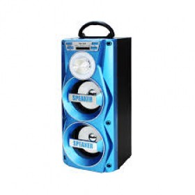 Portable Bluetooth Speaker YM-009 Blue