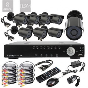 8 CHANNEL AHD DVR KIT